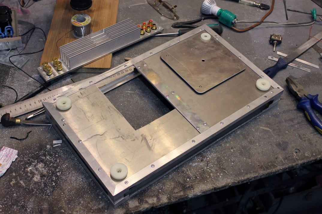 Изготовление корпусов из алюминия своими руками 79